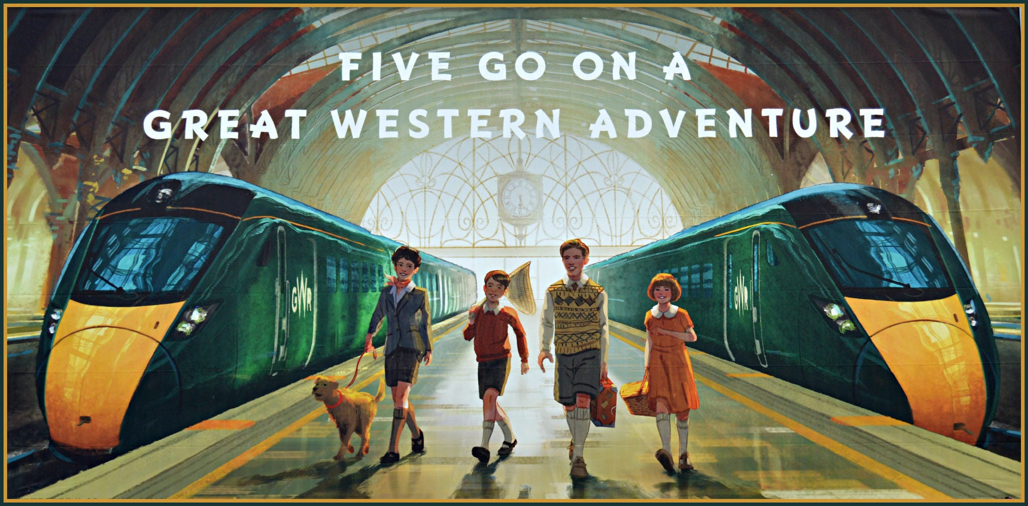 Five Go Mad at GWR
