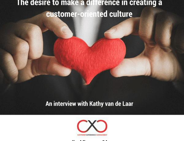 The desire to make a difference in creating a customer-oriented culture